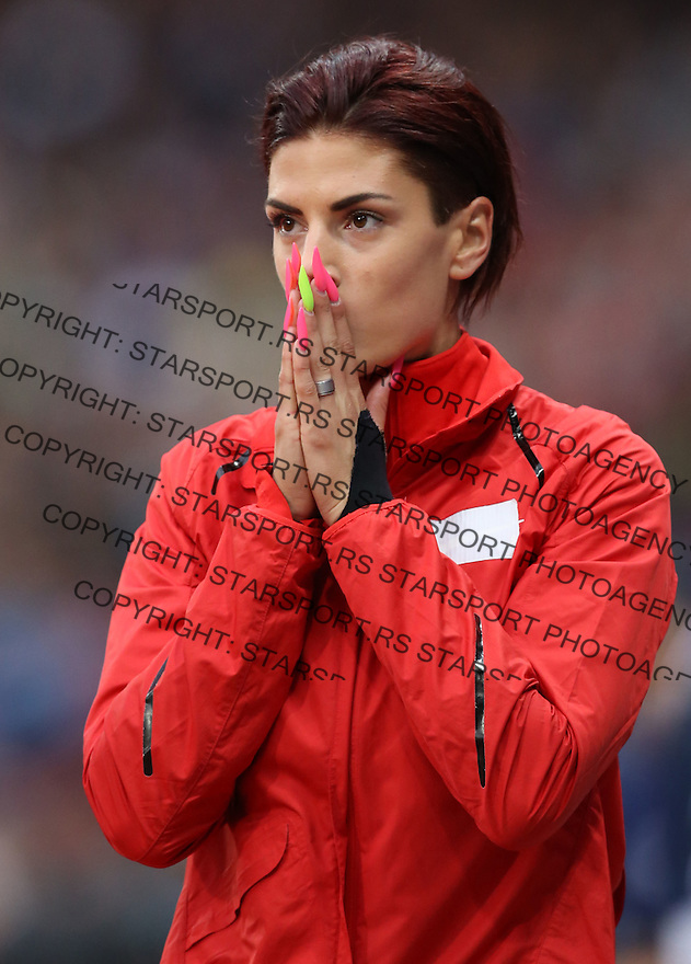 ... Games at Olympic Stadium.Ivana Spanovic skok u dalj.London, 07.08.2012
