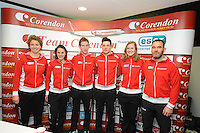 Olympische Perslunch Team Corendon 160114