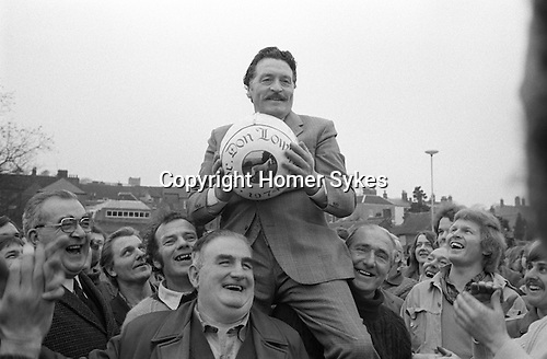 Royal Shrovetide Football. Ashbourne, Derbyshire, England 1974. Annually Shrove Tuesday and Ash Wednesday.