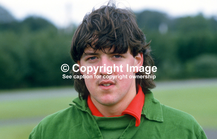 Philip Hughes, goalkeeper, Leeds United, UK, possible N Ireland cap, 19840088PH..Copyright Image from Victor Patterson, 54 Dorchester Park, Belfast, UK, BT9 6RJ..Tel: +44 28 9066 1296.Mob: +44 7802 353836.Voicemail +44 20 8816 7153.Skype: victorpattersonbelfast.Email: victorpatterson@me.com.Email: victorpatterson@ireland.com (back-up)..IMPORTANT: If you wish to use this image or any other of my images please go to www.victorpatterson.com and click on the Terms & Conditions. Then contact me by email or phone with the reference number(s) of the image(s) concerned.