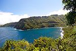 Maui, Hawaii. Driving the Road to Hana.