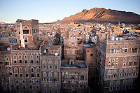 A view over the city of Sana'a.