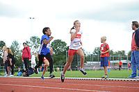 ATLETIEK: HEERENVEEN: 19-09-2015, Athletic Champs AV Heerenveen, Ziggy Veldman (#34 | 9 jaar), Brecht van der Vliet (#105 | 10 jaar), ©foto Martin de Jong
