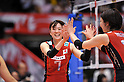 Mai Yamaguchi (JPN),.MAY 23, 2012 - Volleyball : FIVB the Women's World Olympic Qualification Tournament for the London Olympics 2012, between Japan 1-3 Korea at Tokyo Metropolitan Gymnasium, Tokyo, Japan. (Photo by Jun Tsukida/AFLO SPORT) [0003]