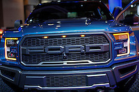 The new 2017 Ford Raptor is exhibit at the 2015 New York International Auto Show in New York City. 04.06.2015. Kena Betancur/VIEWpress.