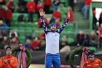 SPEED SKATING: HAMAR: Vikingskipet, 05-03-2017, ISU World Championship Allround, Podium 1500m Men, Denis Yuskov (RUS), ©photo Martin de Jong