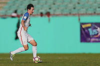St. Vincent and the Grenadines - September 2, 2016: The U.S. Men's National team take a 4-0 lead over St. Vincent and the Grenadines with Sacha Kljestan adding an assist in a World Cup Qualifier (WCQ) match at Arnos Vale Stadium.