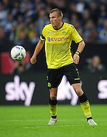 FUSSBALL   1. BUNDESLIGA   SAISON 2011/2012   SUPERCUP FC Schalke 04 - Borussia Dortmund            23.07.2011 Kevin GROSSKREUTZ (Borussia Dortmund) Einzelaktion am Ball