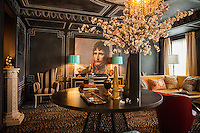 The Kips Bay Decorator Show House invited twenty one designers and architects to transform a luxury Manhattan townhouse for a benefit to the Kips Bay Boys &amp; Girls Club. <br /> <br /> Pictured, design by Garrow Kedigian Interior Design<br /> <br /> Danny Ghitis for The New York Times
