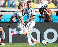 Belo Horizonte, Brazil - Saturday, June 21, 2014: Argentina defeated Iran 1-0 during group play at Estádio Mineirão.