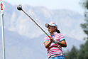 Mika Miyazato (JPN),<br /> APRIL 2, 2011 - Golf :<br /> Mika Miyazato of Japan in action during the third round of the LPGA Kraft Nabisco Championship golf tournament at Mission Hills Country Club in Rancho Mirage, California CA, USA. (Photo by Yasuhiro JJ Tanabe/AFLO)