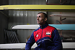 BAGHDAD, IRAQ: Hamza Husain in the boathouse...Iraq is fielding a rowing team for the London 2012 Olympics...Photo by Kamaran Najm/Metrography