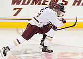 Patrick Wey (BC - 6), Dan Correale (UNH - 13) - The Boston College Eagles and University of New Hampshire Wildcats tied 4-4 on Sunday, February 17, 2013, at Kelley Rink in Conte Forum in Chestnut Hill, Massachusetts.
