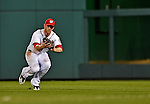 17 May 2012: Washington Nationals outfielder Bryce Harper in action against the Pittsburgh Pirates at Nationals Park in Washington, DC. The Pirates defeated the Nationals 5-3 in the second game of their 2-game series. Mandatory Credit: Ed Wolfstein Photo