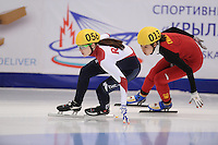 "SHORT TRACK: MOSCOW: Speed Skating Centre ""Krylatskoe"", 14-03-2015, ISU World Short Track Speed Skating Championships 2015, Sofia PROSVIRNOVA (#056 