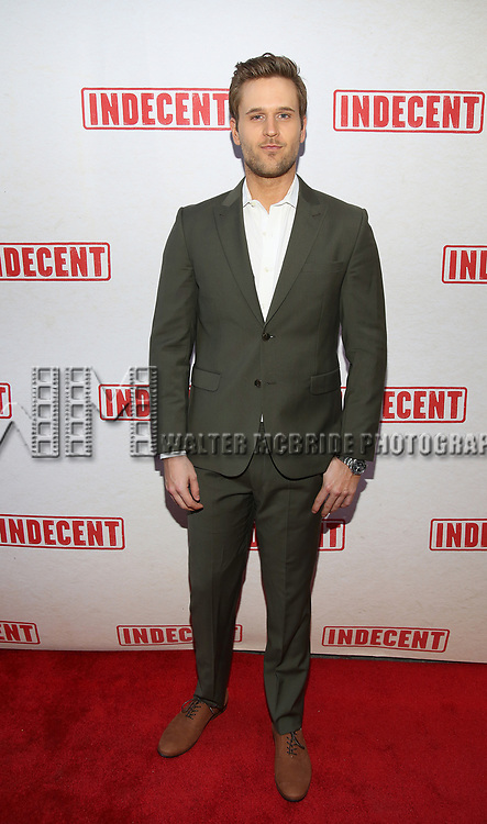 Dan Amboyer attends the Broadway Opening Night Performance of  'Indecent' at The Cort Theatre on April 18, 2017 in New York City.