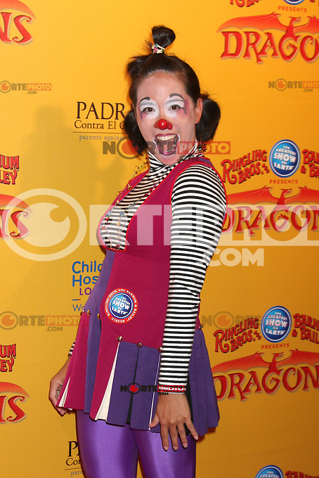Circus Performer at the opening night of Ringling Bros. &amp; Barnum &amp; Bailey's 'Dragons' held at Staples Center on July 12, 2012 in Los Angeles, California. &copy;&nbsp;mpi27/MediaPunch Inc /*NORTEPHOTO*<br />
