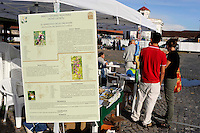 21 Giugno 2009. L' Altradomenica e Biomercato  alla Città dell'Altra Economia a Testaccio.con mercato di produttori di agricoltura biologica