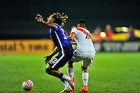 Jermaine Jones of USA reacts after getting bumped. USA defeated Peru 2-1 during a Friendly Match at the RFK Stadium in Washington, D.C. on Friday, September 4, 2015.  Alan P. Santos/DC Sports Box