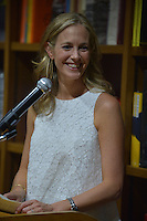CORAL GABLES, FL - JULY 19: Author Lauren Weisberger discuss and sign copies of her new book ' The Singles Game ' at Books and Books on July 19, 2016 in Coral Gables, Florida. Credit: MPI10 / MediaPunch