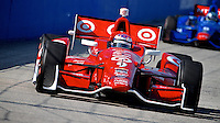 Scott Dixon, Milwaukee Indy Fest 250, Milwaukee Mile Speedway, Milwaukee, WI, August 2014.  (Photo by Brian Cleary/www.bcpix.com)