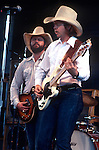 Toy Caldwell, Tommy Caldwell Marshall Tucker Band, May 1977. Brothers who co-founded  the Marshall Tucker Band. The band's blend of rock, rhythm and blues, jazz, country, and gospel helped establish the Southern rock genre in the early 1970s.