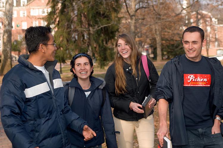 17267 Campus Winter Students Diversity