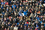 Hearts v St Johnstone...05.02.12.. Scottish Cup 5th Round.Saints fans support their team.Picture by Graeme Hart..Copyright Perthshire Picture Agency.Tel: 01738 623350  Mobile: 07990 594431