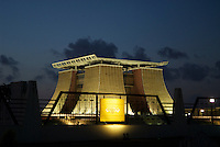 Residence and office to the President of Ghana. http://news.bbc.co.uk/1/hi/world/africa/7720653.stm