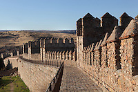 Northern City Walls, 11th-14th century, Avila, Spain. The Old Town has been designated a UNESCO World Heritage Site. Photograph by Manuel Cohen.