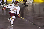 Danny Linell (BC - 10) - The Boston College Eagles defeated the University of Vermont Catamounts 4-1 on Friday, February 1, 2013, at Kelley Rink in Conte Forum in Chestnut Hill, Massachusetts.