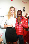 U.S. 2012 Olympic Gold Medalist Susan Francia and Wyclef Jean-Arrivals-Boy Meets Girl Forever Young Fashion Show Held at Style 360, NY  9/12/12