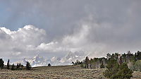 Grand Tetons, thunderstorm, Grand Teton National Park