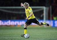 FUSSBALL   DFB POKAL   SAISON 2011/2012   VIERTELFINALE Holstein Kiel - Borussia Dortmund                          07.02.2012 Marcel Schmelzer (Borussia Dortmund)