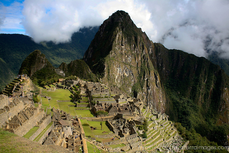South America, Peru, Machu PIcchu.