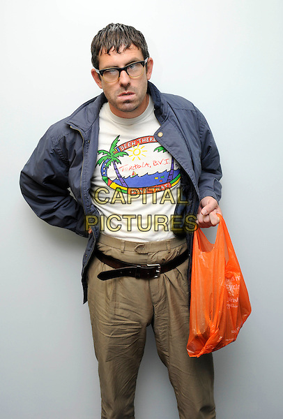 Angelos Epithemiou During And Interview In London