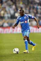 Sanna Nyassi (11) midfield Montreal Impact in action..Sporting Kansas City defeated Montreal Impact 2-0 at Sporting Park, Kansas City, Kansas.