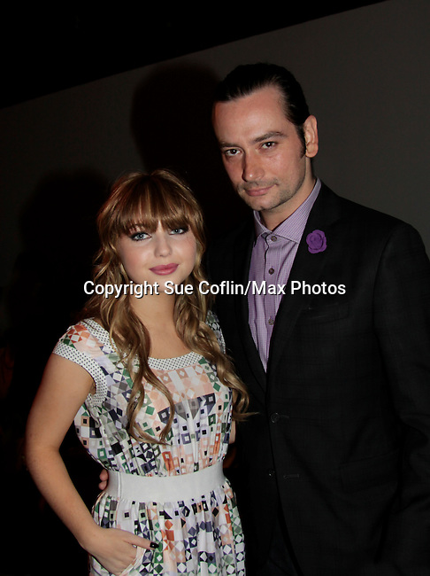 09-08-14 Nolcha Fashion Week - Constantine Maroulis -  Sammi Hanratty - more