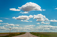 Road & Clouds, Hwy 2, Joplin, MT