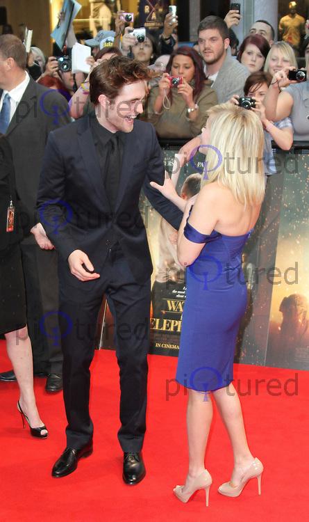 Robert Pattinson; Reese Witherspoon Water for Elephants UK ... Robert Pattinson