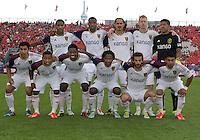 29 June 2013: Real Salt Lake starting eleven during an MLS game between Real Salt Lake and Toronto FC at BMO Field in Toronto, Ontario Canada.<br /> Real Salt Lake won 1-0.