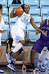 21 December 2013: North Carolina's Xylina McDaniel. The University of North Carolina Tar Heels played the High Point University Panthers in an NCAA Division I women's basketball game at Carmichael Arena in Chapel Hill, North Carolina. UNC won the game 103-71.