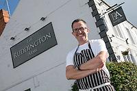 Mark Anderson, licencee of The Ruddington Arms, Ruddington, Nottingham