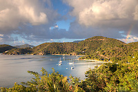 Dusk in Round Bay<br /> St. John<br /> U.S. Virgin Islands