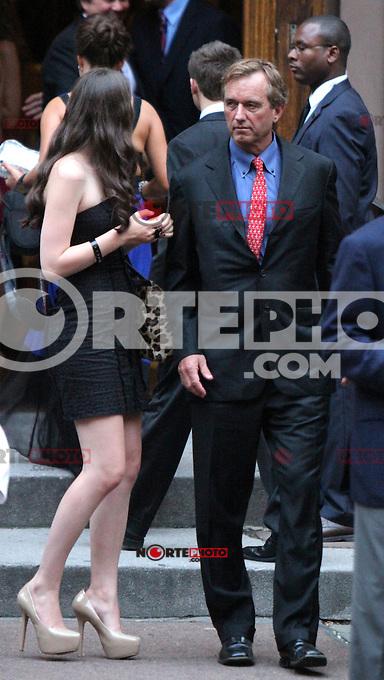 June 30, 2012  Robert Kenndy Jr. attend the Alec Baldwin and Hilaria Thomas Wedding Day at Basilica of St. Patrick's Old Cathedral in Little Italy in New York City.Credit:&copy; RW/MediaPunch Inc. /*NORTEPHOTO.COM*<br /> *SOLO*VENTA*EN*MEXiCO* *CREDITO*OBLIGATORIO** *No*Venta*A*Terceros* *No*Sale*So*third* ***No Se*Permite*Hacer*Archivo** *No*Sale*So*third*&Acirc;&copy;Imagenes con derechos de autor,&Acirc;&copy;todos reservados. El uso de las imagenes est&Atilde;&iexcl; sujeta de pago a nortephoto.com El uso no autorizado de esta imagen en cualquier materia est&Atilde;&iexcl; sujeta a una pena de tasa de 2 veces a la normal. Para m&Atilde;&iexcl;s informaci&Atilde;&sup3;n: nortephoto@gmail.com* nortephoto.com.