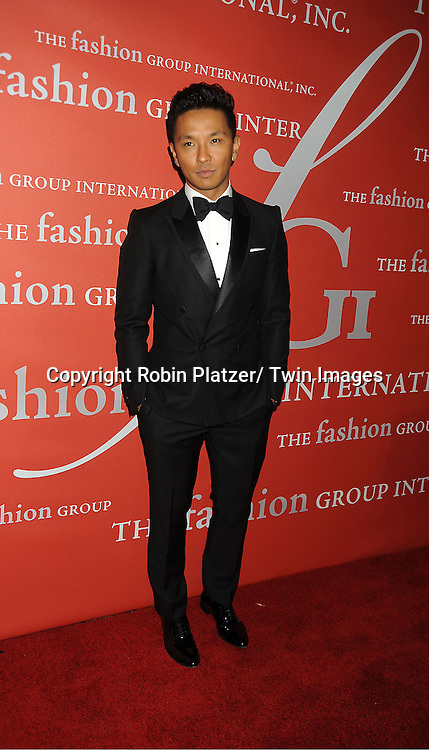 Prabal Gurung attends the Fashion Group International's 29th Annual  Night of Stars Gala on October 25, 2012 at Cipriani Wall Street in New York City.