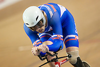 Picture by Alex Whitehead/SWpix.com - 04/03/2017 - Cycling - UCI Para-cycling Track World Championships - Velo Sports Center, Los Angeles, USA - Slovakia's Jozef Metelka wins Gold in the Men's C4 4km IP