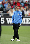 UCLA head coach Jillian Ellis. The University of Portland Pilots defeated the UCLA Bruins 4-0 to win the NCAA Division I Women's Soccer Championship game at Aggie Soccer Stadium in College Station, TX, Sunday, December 4, 2005.