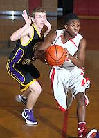 Boys Basketball JV vs Ritter 2-3-12