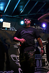 Joell Ortiz of Slaughterhouse Performs at the 8th Annual Rock The Bells Held on Governors Island, NY  9/3/11
